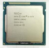 Original intel Core I5 3470 I5 3470 3.2GHz Quad Core LGA 1155 L3 Cache 6MB Desktop CPU
