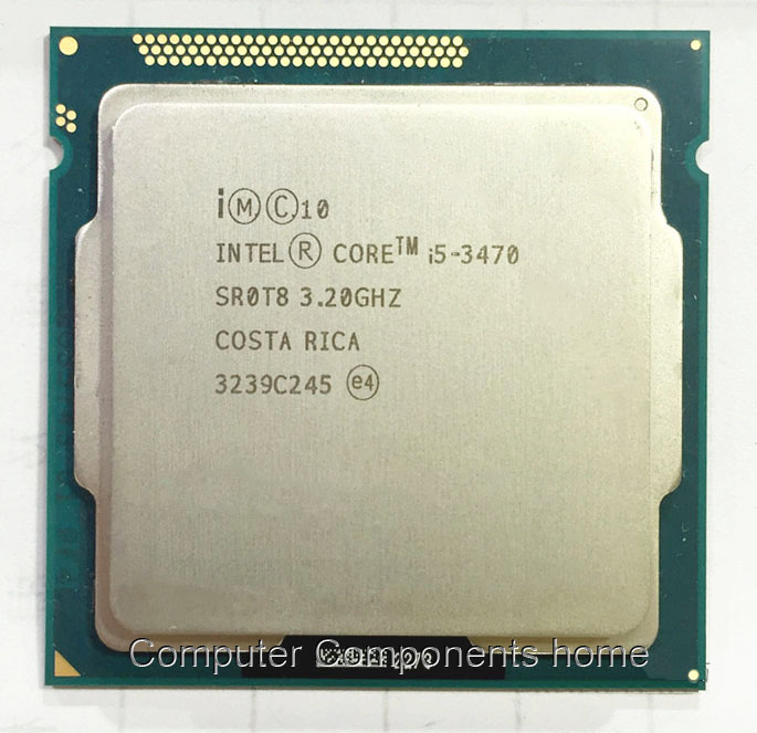 Original intel Core I5 3470 I5 3470 3,2 GHz Quad-Core LGA 1155 L3 Cache 6MB Desktop CPU