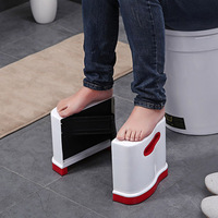 Portable Qualified Squatty Bathroom Thicken Folding Stools Toilet Stool Step Footstool Piles Relief Aid Safety Folding Stool