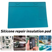 310*210MM Silicone Repair Insulation Pad Soldering Station Pad To Make Your Repair Work Easy