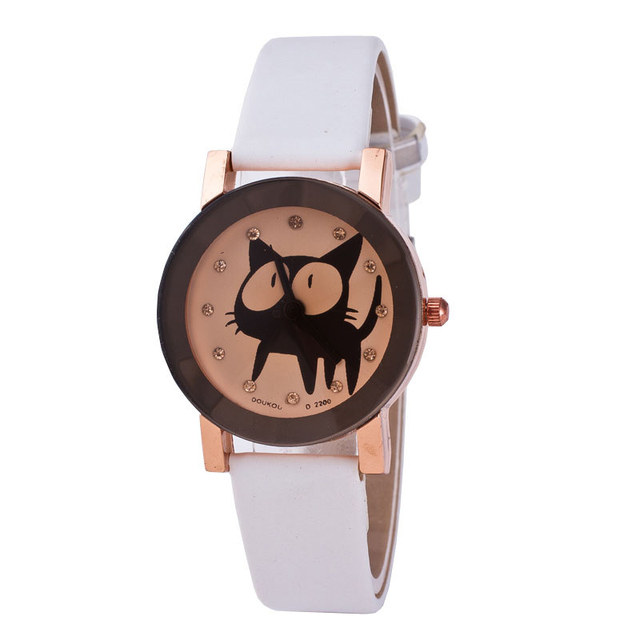 lovely Wristwatch Quartz Movement kitten Photo
