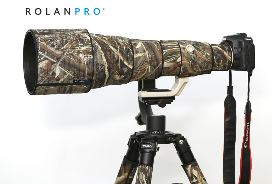 ROLANPRO Nylon Waterproof Camouflage Rain Cover Lens Coat for Canon EF 800mm F/5.6 L IS USM Lens Protective Sleeve Outdoor CoverROLANPRO Nylon Waterproof Camouflage Rain Cover Lens Coat for Canon EF 800mm F/5.6 L IS USM Lens Protective Sleeve Outdoor Cover