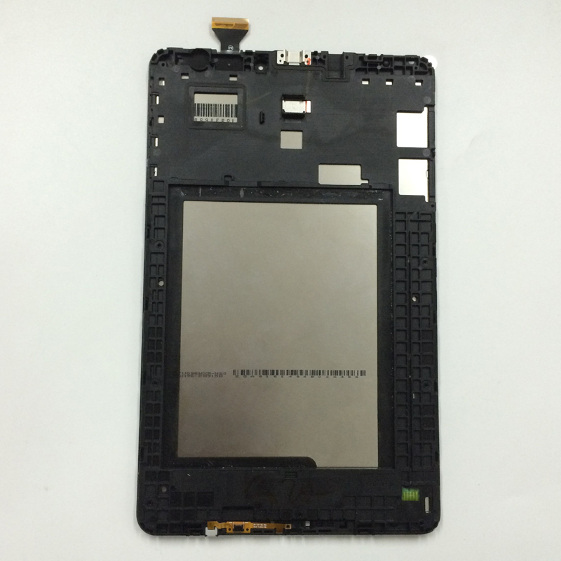 For Samsung Galaxy Tab E 9.6 T560 T561 SM-T560 SM-T561 Touch Screen Digitizer Sensor Glass + LCD Display Monitor Assembly Frame