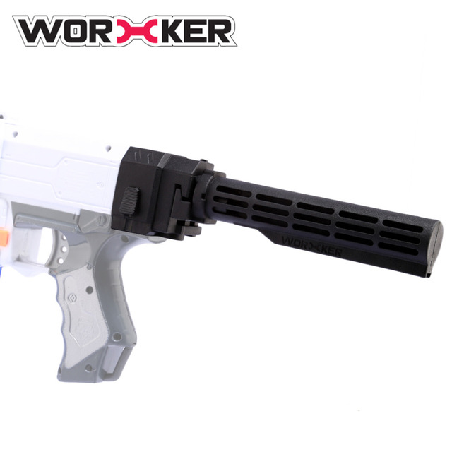 Worker Folding Shoulder Stock Core Parts Set for nerf N-strike Elite Series  Modulus Series