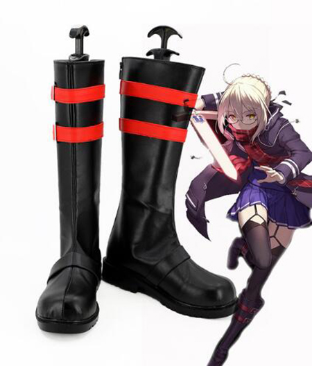 Fate Grand Order FGO X Alter Cosplay Boots Shoes Costume Accessories Halloween Party Boots for Adult Women Shoes