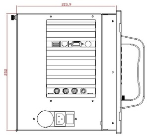 Image 3 - Промышленная рабочая станция 6U, 19 дюймов, E5300 (2M кэш, 2,60 ГГц), 4 Гб памяти, 500 Гб HDD, 4xPCI,4xISA