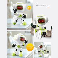 JJRC R9 RUBY Touch Control DIY Gesture Mini Smart Voiced Alloy Robot Toy RC Robot For Kids Birthday Gifts VS JJRC R7 R8 R2(China)