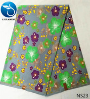 LIULANZHI African Real Wax Printing Fabric Super Hollandais Wax Fabric Latest London Wax Fabric For Dress