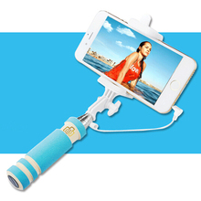 Universal Handheld Mini Selfie Stick Waterproof Extendable Fold Selfie Pole For Iphone 6 plus 5s 4s Samsung Android