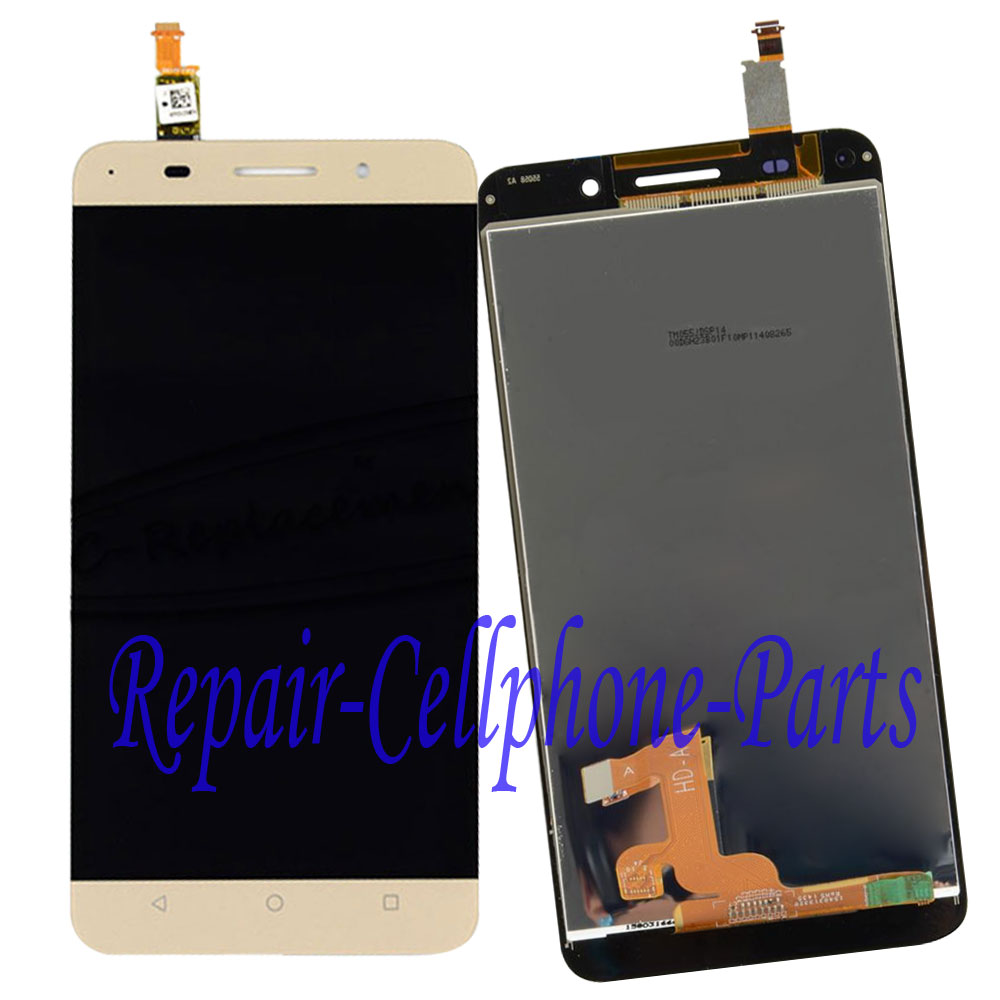 5.5 inch Gold Full LCD DIsplay + Touch Screen Digitizer Assembly For Huawei Honor 4X Che2-UL00 Free shipping , 100% Tested