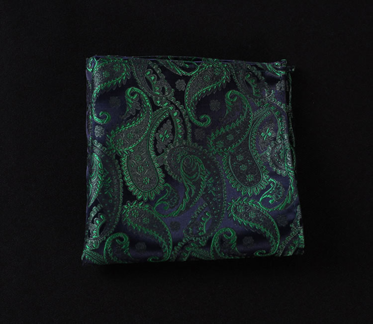 VE10 Green Navy Blue Paisley (5)
