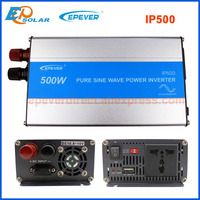 DC 12V 24V input options 500W inverter EPEVER pure sine wave off grid tie power inverter IP500 shipping by TNT&Fedex&UPS