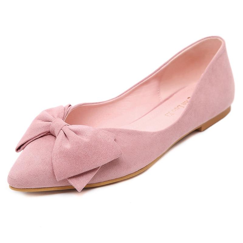 De 2018 blue Pointu Plates Automne Femmes Solide pink red Mocassins Designer Casual Wine Luxe Bout Black Chaussures Femme apricot Hiver ztFg1rZt