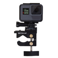 PULUZ PU196 Universal Aluminum Alloy Mount Multifunctional Fixing Clamp Action Camera Accessories For GoPro HERO 4/ 5