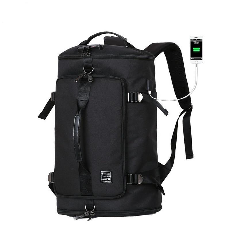 Laamei Fashion Men Waterproof Anti Theft Laptop Backpack USB Charging Large Back Pack Travel School Bags Bagpack For Male Boy fashion men waterproof anti theft laptop backpack usb charging large back pack travel school bags bagpack for male boy