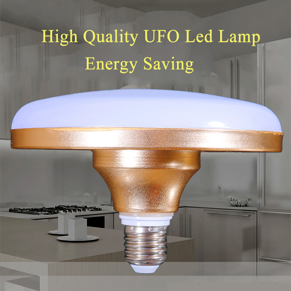 UFO LED Lampdada 15W 20W 30W 40W 50W LED Light Bulb SMD 5730 Brighter Than SMD 5736 Waterproof Indoor Outdoor Lamp Energy Saving