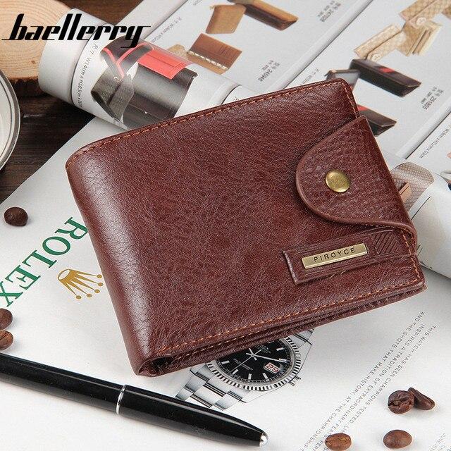 c0c481fc0bcc Small wallet men multifunction purse men wallets with coin pocket zipper men  leather wallet male famous brand money bag