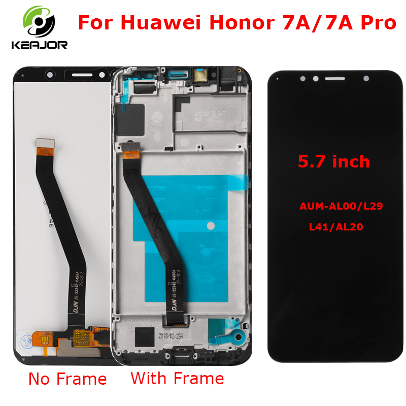 Touch Screen For Huawei Honor 7A LCD Display Pro Digitizer Assembly Replacement 5.7