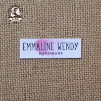70 Custom Logo Labels Brand Labels Personalized Name Tags For Children Iron On Custom Clothing Labels