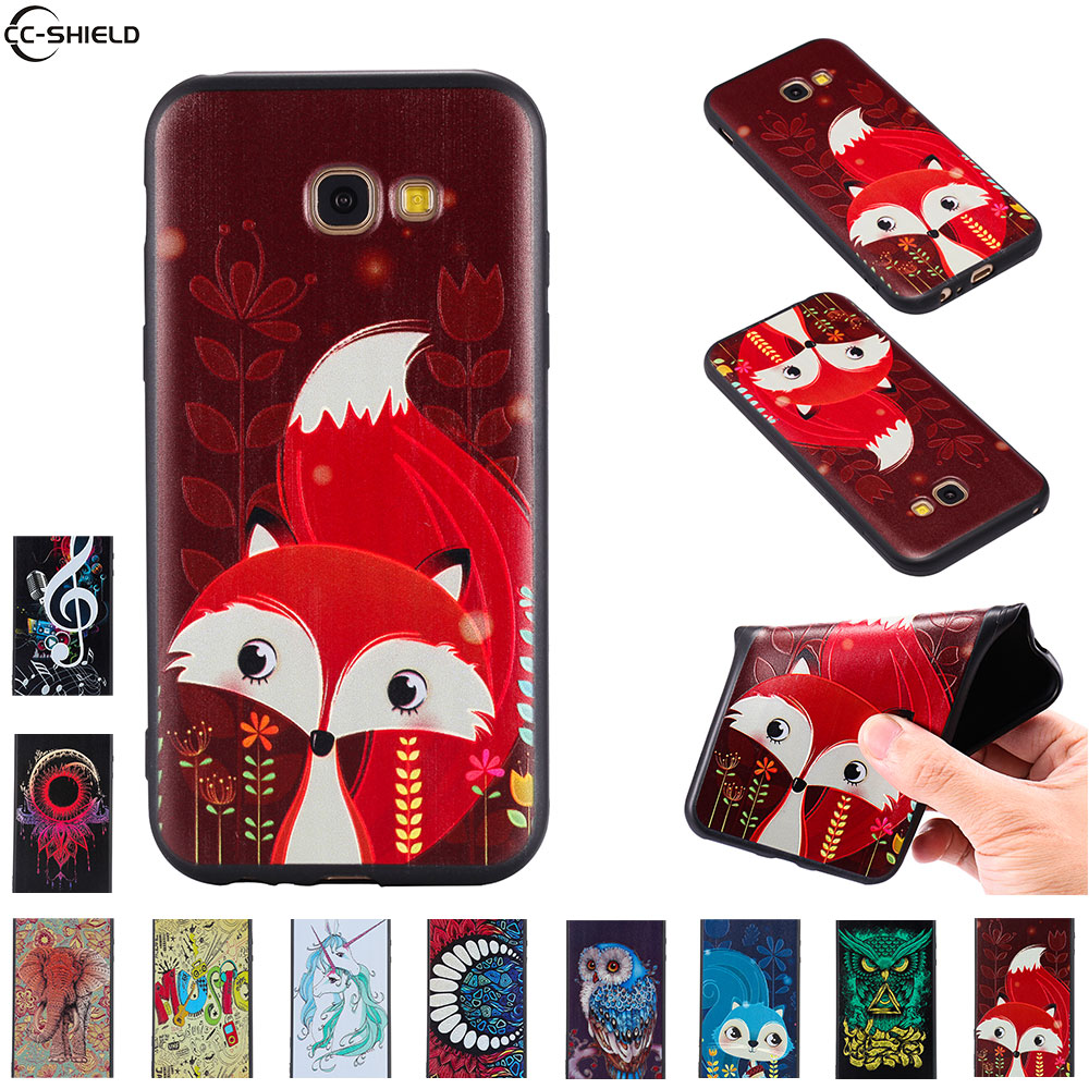 Fitted Case For <font><b>Samsung</b></font> <font><b>Galaxy</b></font> <font><b>A5</b></font> 2017 A 5 <font><b>520</b></font> A57 Case Phone Cover A520 SM-A520 SM-A520F/DS SM-A520F A520F A520F A520K silicon image