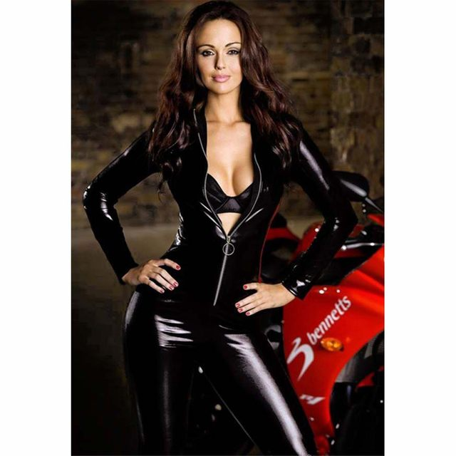 Sexy lingerie online store leather