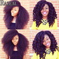 Zazeal afro kinky twist marley braid hair crochet braids havana mambo twist crochet braiding synthetic african hair extension