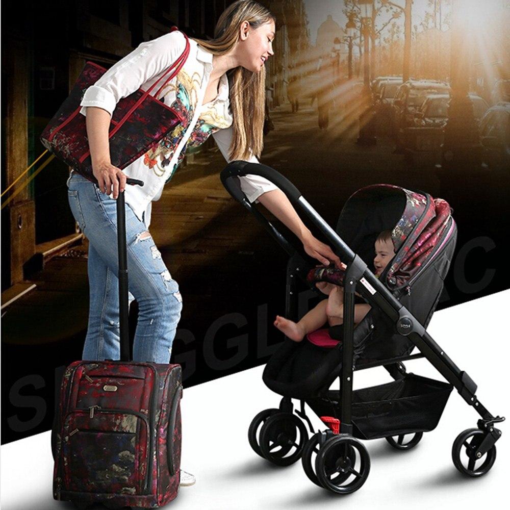 i-baby Draagbare Opvouwbare Paraplu Kinderwagen Snuggle Sac Monet - Activiteit en uitrusting voor kinderen - Foto 5