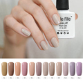 Nude Color Style 12 Colors Can Choose 10ml Need Base And Top Coat Nail Gel Polish Soak Off Nailpolish Gelpolish Gel Lak