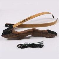 1 шт. охотничьи луки 60 ''45lbs стрельба из лука луки и стрелы ламинирования деревянный лук