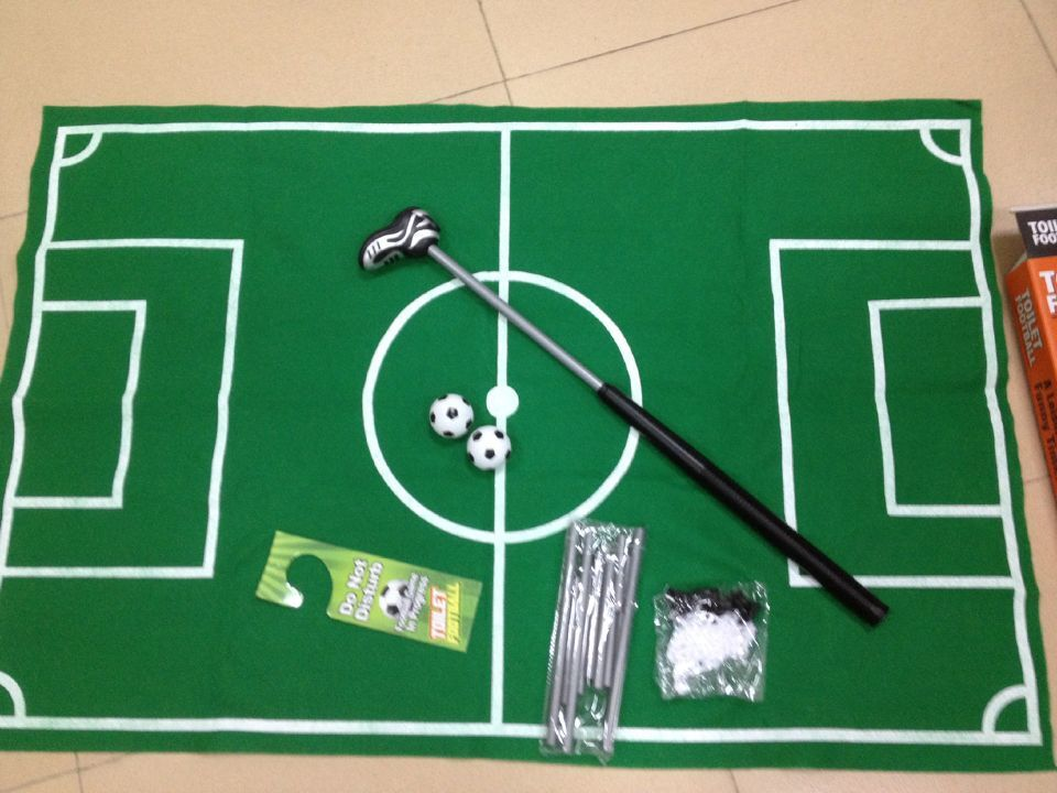 2018 NEW HOT Toilet Football Soccer Sets Adult Kids Toy Sports Indoor Training Men Boy Funny Games Party Santa Gift