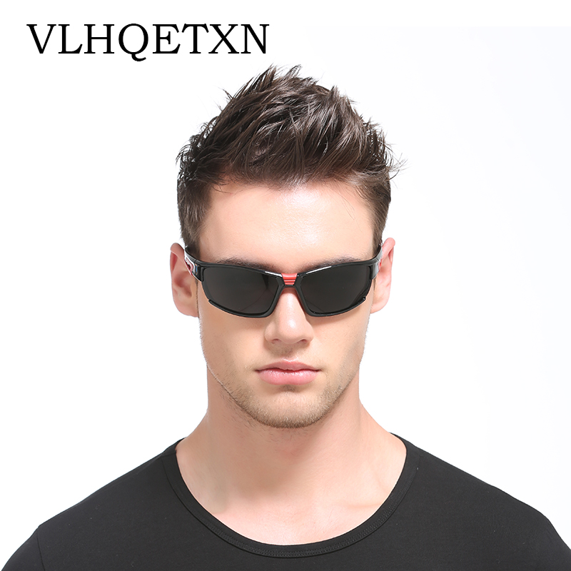 VLHQETXN Man Sunglasses Brand 2017 Vintage Polarized Sun glasses Men Sport Driving Glasses Uv400 Lunette Oculos Sol Masculino
