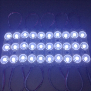 Image 5 - 1000 pçs/lote atacado 2835 injeção led módulo 3led lente 160 graus, 12 v 1.5 w publicidade luz led módulos