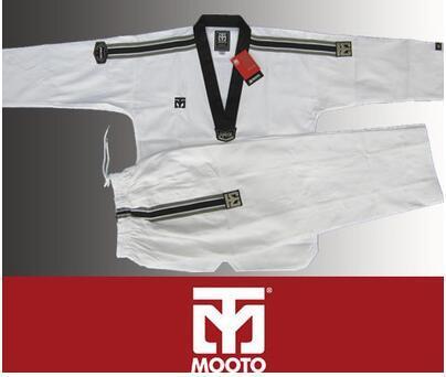 Небольшой Квадратной Сетки, ткани Таэквондо Mooto Limited Edition Одежда Топ Тренер служба 2016 Профессиональная Одежда Спорт Добок Комфорт