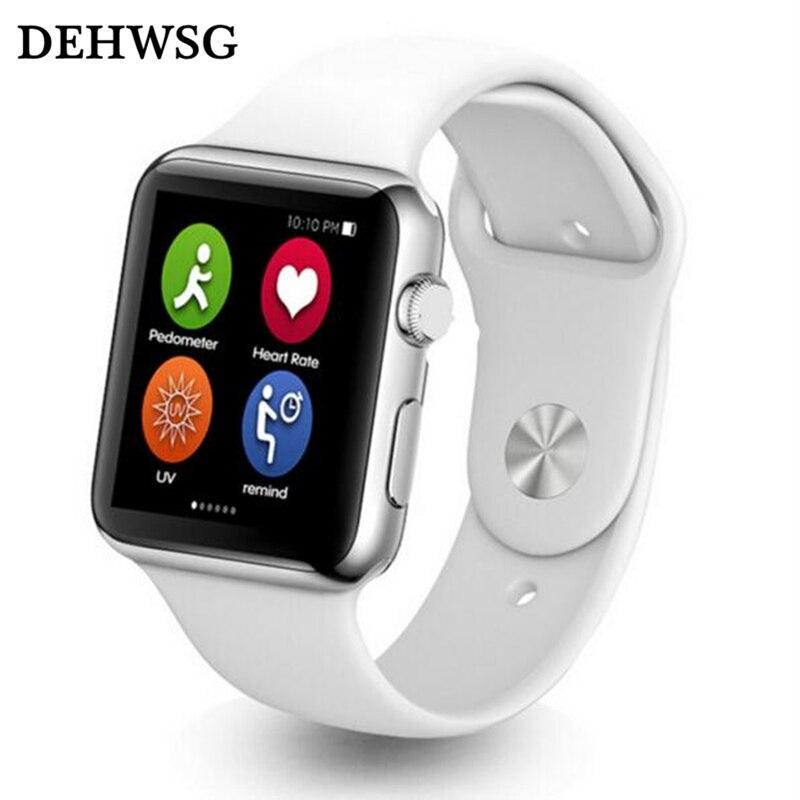 imágenes para Dehwsg bluetooth smart watch iwo 1:1 mtk2502c apoyo monitor de ritmo cardíaco smartwatch llamada de recordatorio para apple ios android teléfono