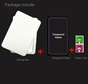 "Image 5 - 2 sztuk dla Lenovo K5 Pro 5.99 ""L38041 K5pro 2018 szklany ekran Protector pełna pokrywa szkło hartowane ochronne 9H 2.5D szklana folia"