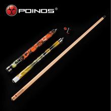 New Arrival POINOS Brand ZU Break Cue Billiard Stick Punch Jump Cues with Pool Case Set Yellow Red Blue Colors China 2019
