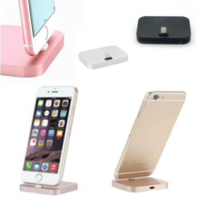 טלפון נייד טעינת Dock שולחני תחנת עגינה מטען סנכרון נתונים USB כבל עבור iPhone 5 6 7 8 בתוספת X סמסונג Xiaomi אנדרואיד