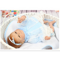 European Fashion Silicone Reborn Baby Dolls 16 40 Cm Lifelike Baby Reborn Doll Toys For Children
