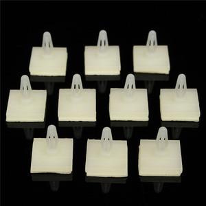 100 PCS HC-5 Nylon Plastic Stick On PCB