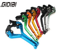 8 Colors Motorcycle Short Brake Clutch Levers For Honda CB 599 919 400 CB600 HORNET CBR 600 F2 F3 F4 F4i 900RR VTX1300 NC700 S/X(China)