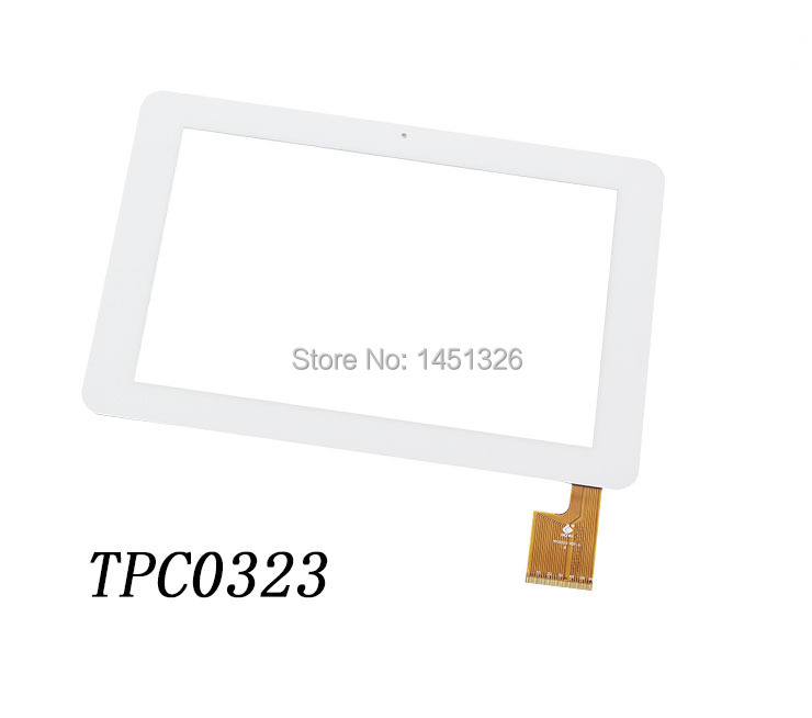 ФОТО White 10.1 inch touch screen Digitizer For AMPE A10S Sanei N10 Dual Core (P/N:TPC0323) 263*113mm tablet PC Free shipping
