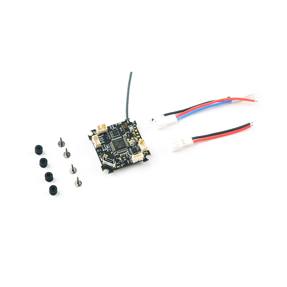 Crazybee F3 Pro Contrôleur de Vol pour Mobula7 5A 1-2 s Compatible Flysky/Frsky/DSM/X récepteur pour 2 s Brushless minuscule Bwhoop