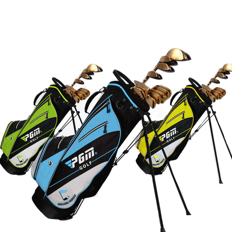 Golf bag golf rack bag Ball bag comes with pull rod pulley High hardness plastic base Advanced nylon fabric material golf ball sample display case
