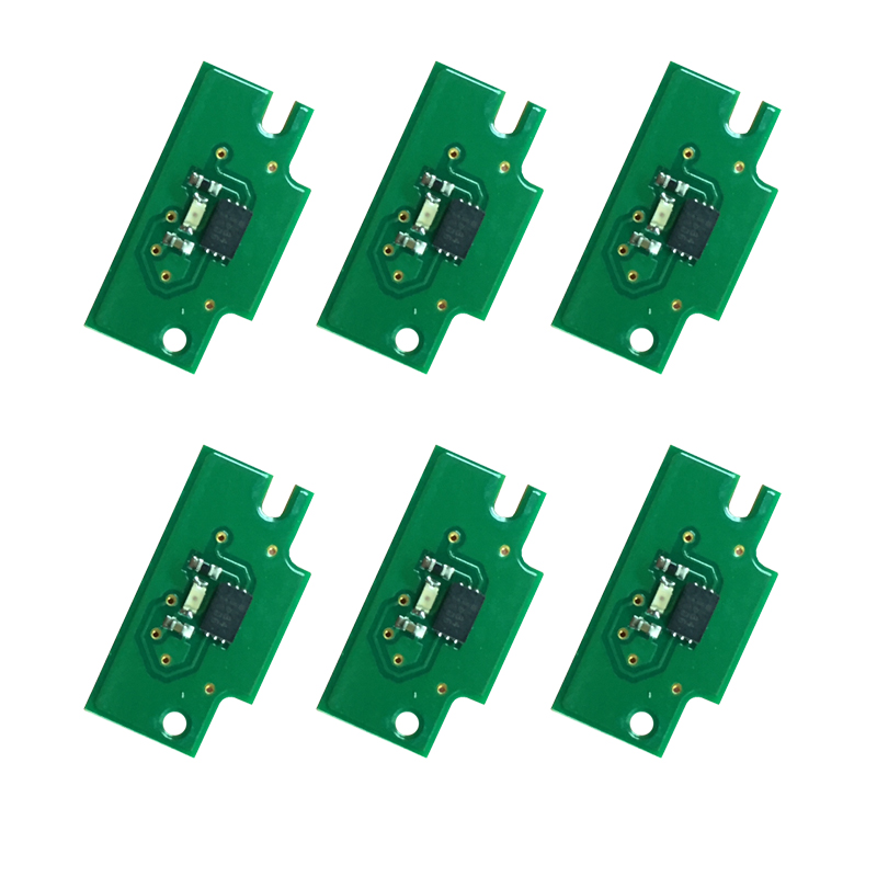 one time chips For Canon PFI 107 cartridge chip for Canon iPF680 iPF685 iPF785 iPF770 iPF780 printer 61dm 074 lux