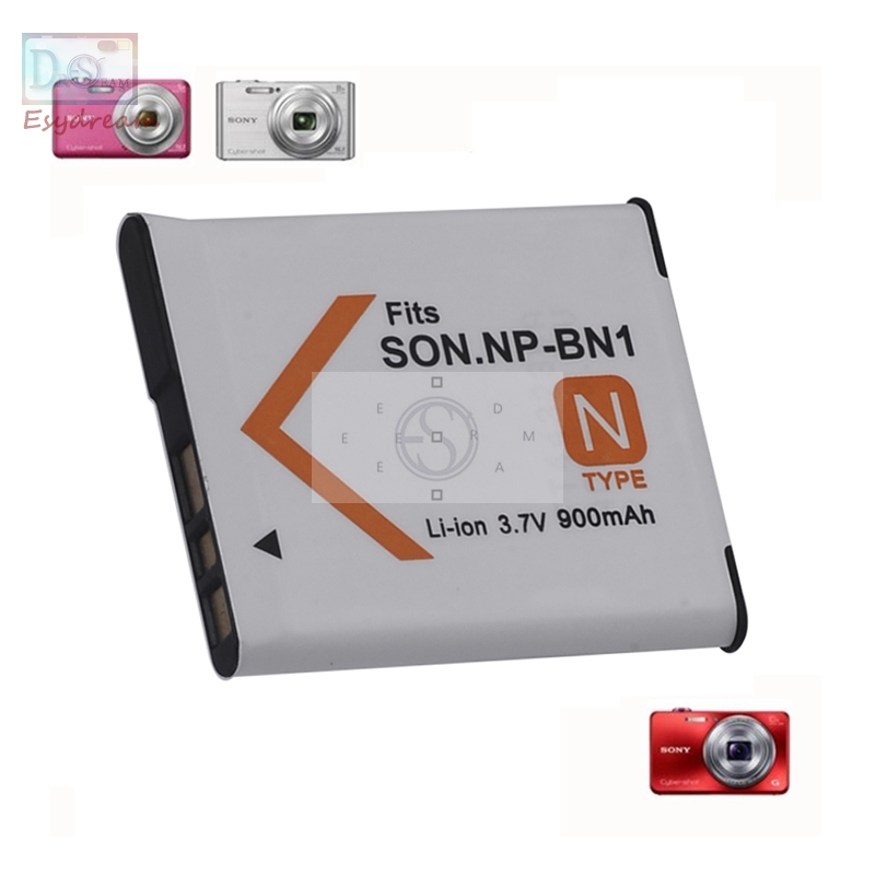 900mAh NPBN1 NP-BN1 BN1 NP-BN Camera Battery for <font><b>Sony</b></font> QX100 TF1 TX7 <font><b>DSC</b></font>-<font><b>W320</b></font>/330/350/360/370/380/W730/W150 PM001 image