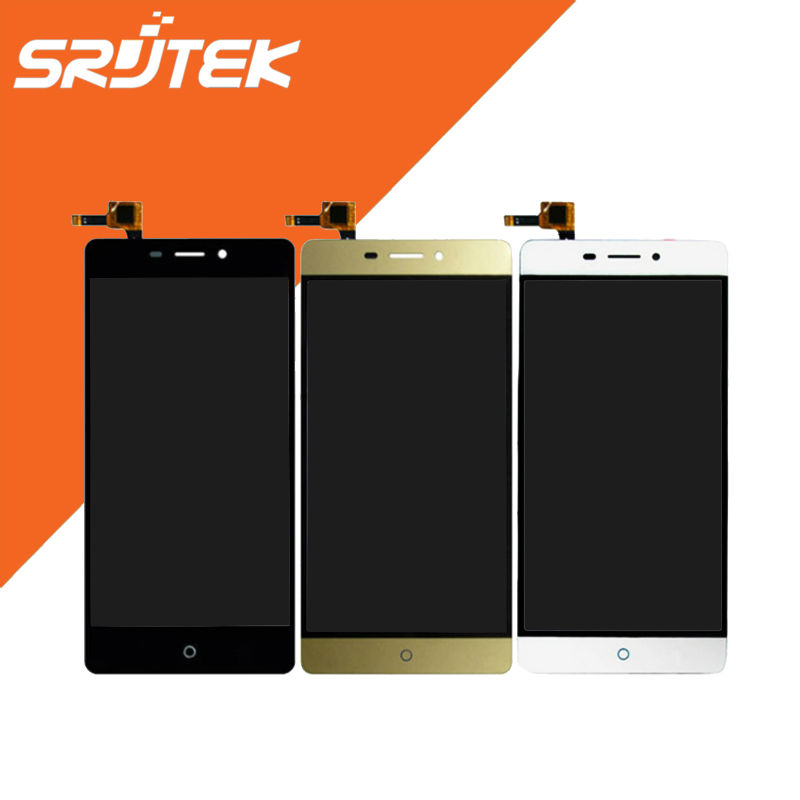 ФОТО 1920x1080 For ZTE Blade V580 5.5 inch LCD Display+Touch Screen Full Assembly Replacement Parts Black/White/gold