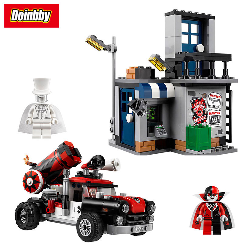 07097 Harley Quinn Cannonball Attack Building Blocks Model Bricks Toys Compatible with Legoings Batman Movie 70921 ...