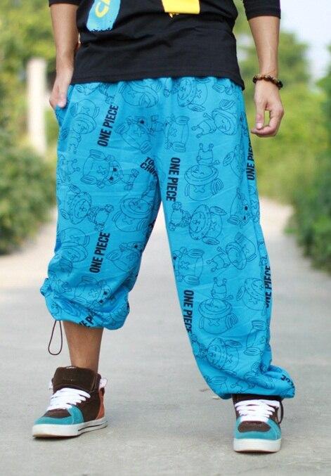 Мужские весенние тонкие спортивные штаны для бега, повседневные штаны в стиле хип-хоп, свободные штаны в стиле хип-хоп, уличные танцы, шаровары для мужчин размера плюс 5xl - Цвет: blue