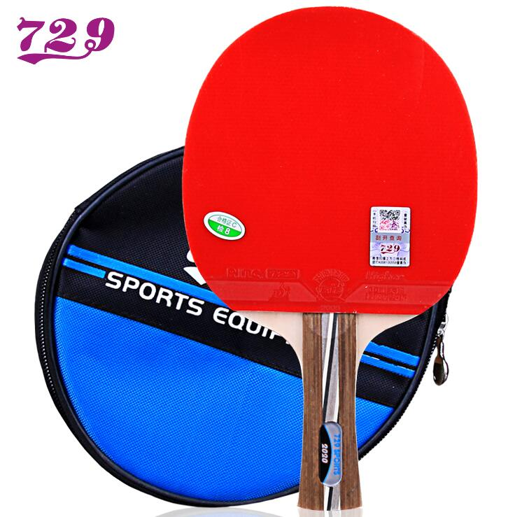 729 Friendship 2020 Tennis Racket With Rubber 5 Layers Wood Balde