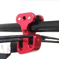 Spor ve Eğlence'ten Dış Mekan Aletleri'de 3/8 inç Alüminyum Bileşik Yay Kablo Slayt Okçuluk Yay Dize Splitter Silindir Glide Yedek Bowstring Ayırıcı Ok Kasnak